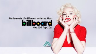 Madonna is the Woman with the Most Billboard Hot 100 Top 10s!