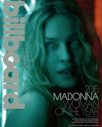 Madonna on the cover of Billboard