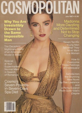 Madonna included in Cosmopolitan's 50 Years of Cover Stars