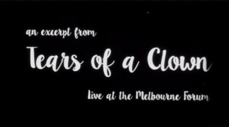 An excerpt from Madonna's Tears of a Clown to be included on the DVD