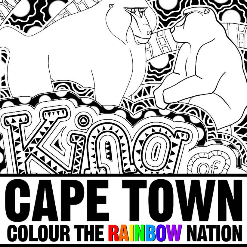 Cape Town: Colour the Rainbow Nation by Pearl R. Lewis - King of the Mountains