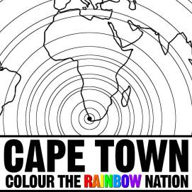 Adult coloring - Cape Town: Colour the Rainbow Nation Coloring Book by Pearl R. Lewis