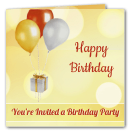 To Design Free Party Invitation Card For Any Other Occasion Go All In One Maker