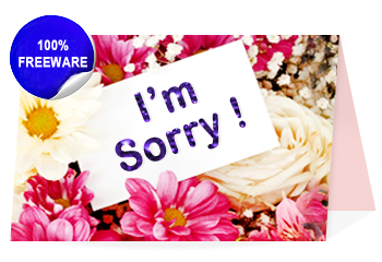image regarding Printable Sorry Card named Pics Of Sorry Playing cards