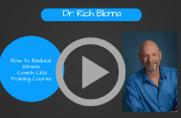 Stress Coaching CEU Training Course, Video # 2: How to Cope With Stress