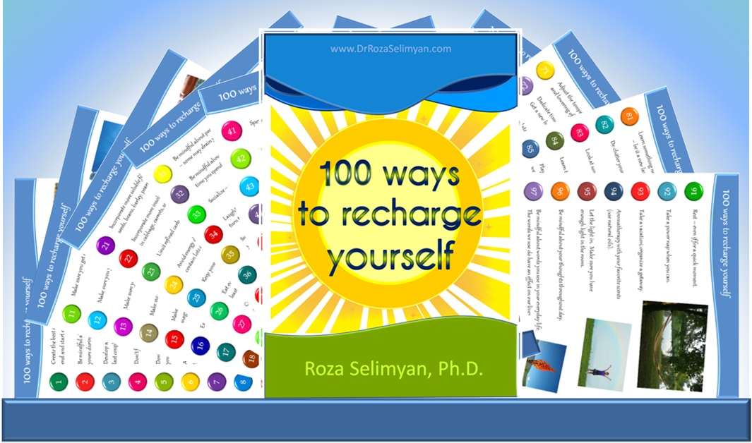 100 Ways to Recharge Yourself