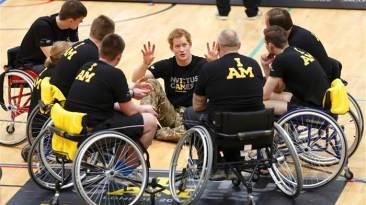 Invictus Games Prince Harry wheelchairs