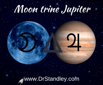 The Moon trine Jupiter aspect on DrStandleycom