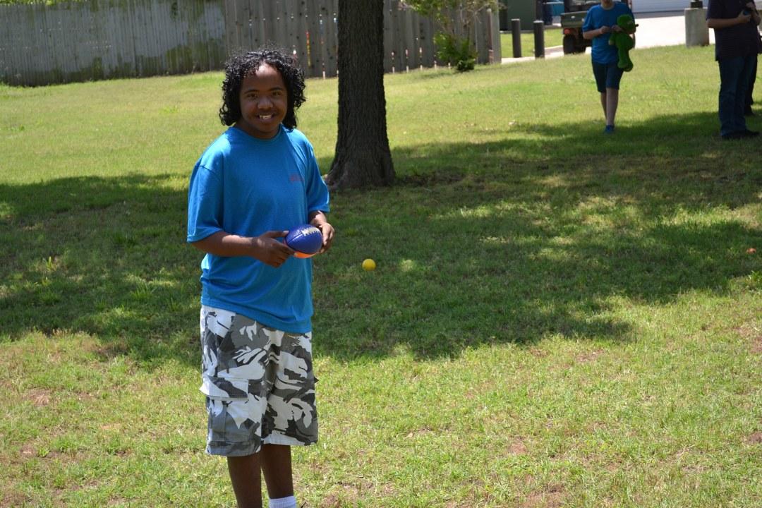Camp Tumbleweed field day