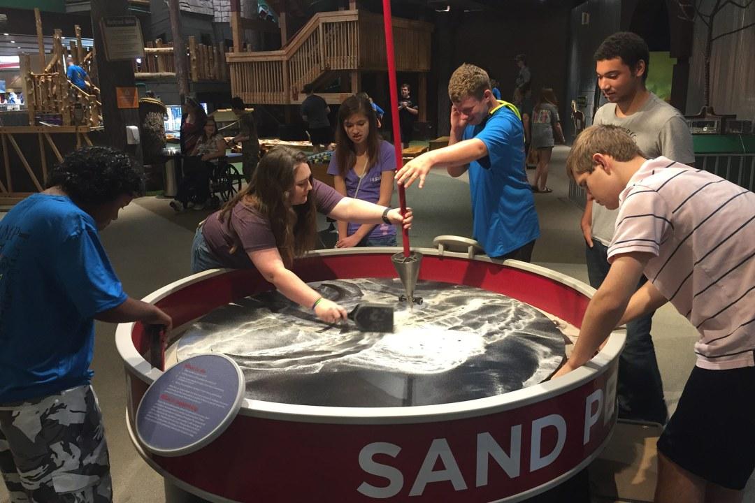 Science Museum sand pendulum