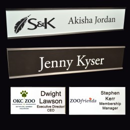 Name Badges & Name Plates