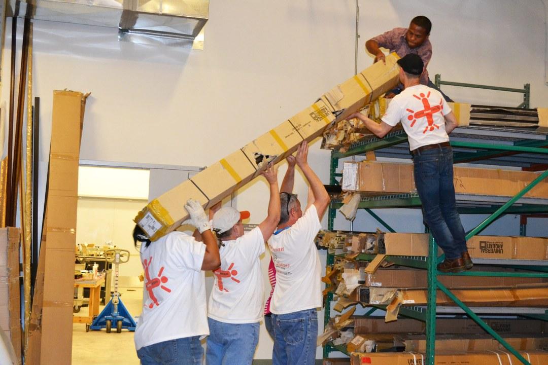 Teamwork in action