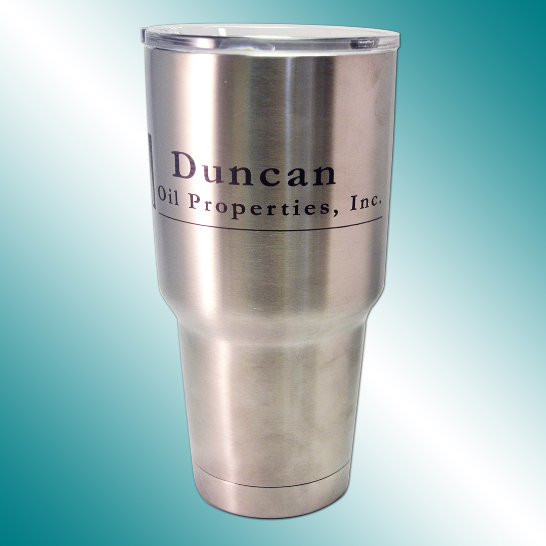 Duncan Oil Properties engraving