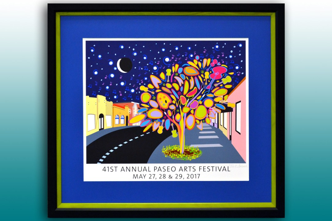 Paseo Arts Festival 2017 poster