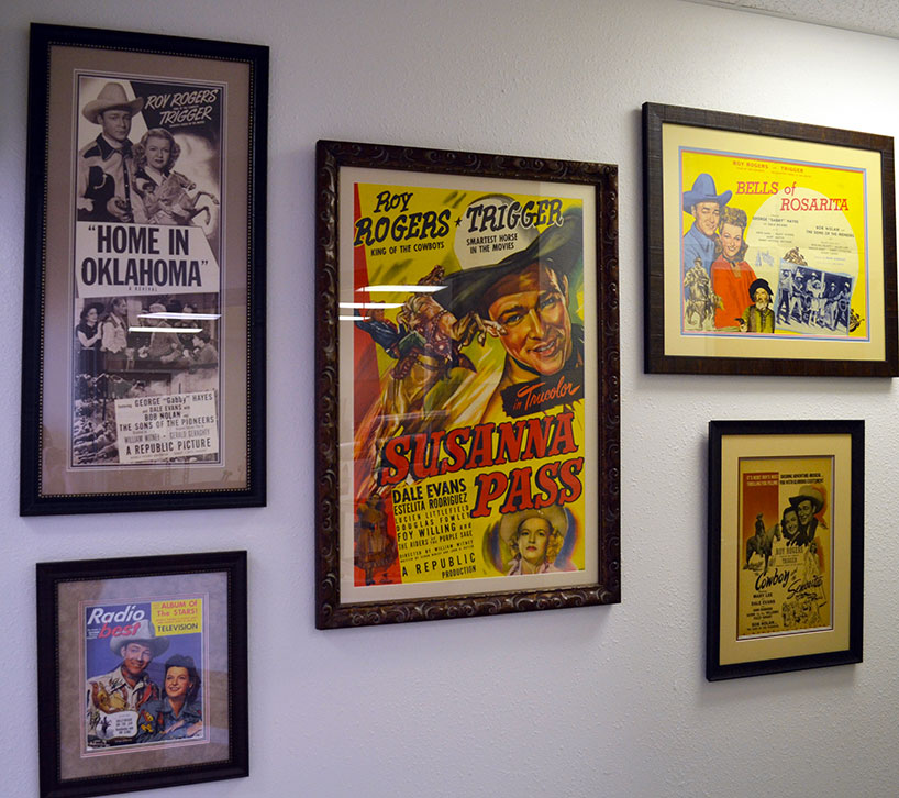Framed Movie Posters Dale Rogers Training Center