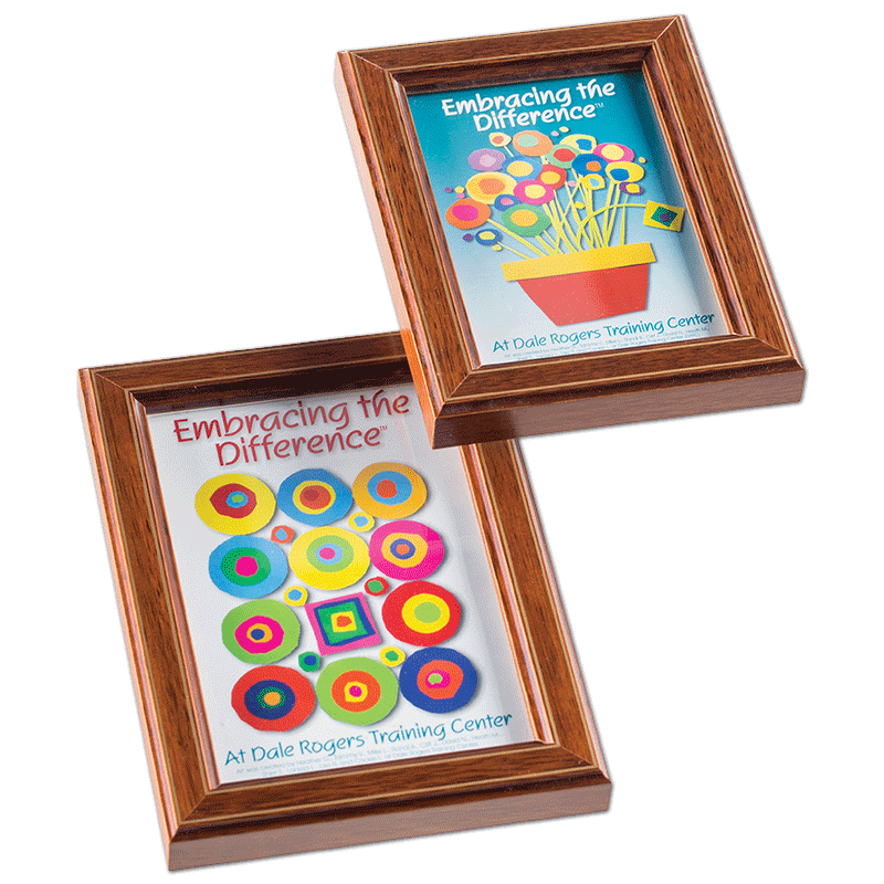 Mini photo frames - set of 2 | Dale Rogers Training Center