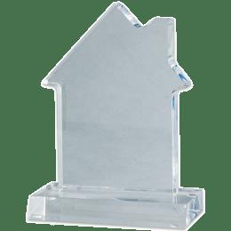 Blank acrylic house