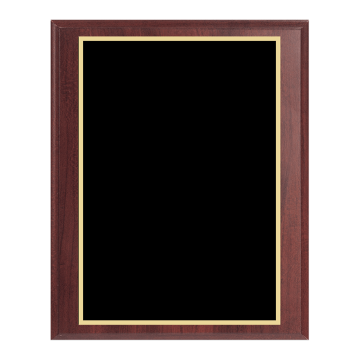 Blank Simulated Cherry Plaque.