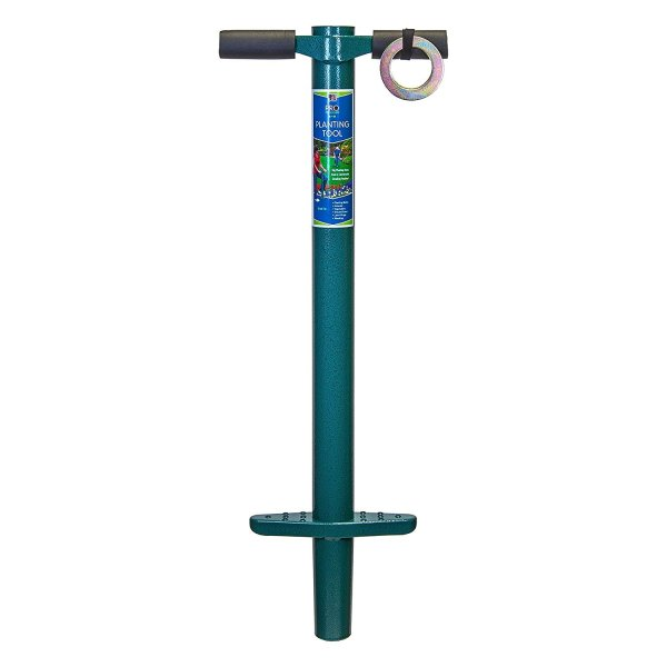 ProPlugger 5-IN-1 Lawn Tool and Garden Tool, Bulb Planter, Weeder, Sod Plugger, Annual Planter, Soil Test 1