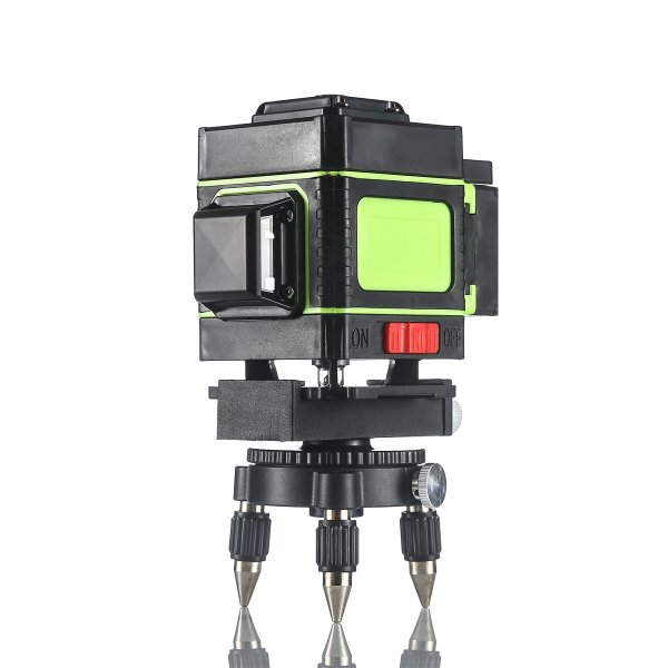 12 Lines Laser Level Measuring DevicesLine 360 Degree Rotary Horizontal And Vertical Cross Laser Level  with Base 1