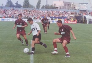 Parcă a trecut o veșnicie! UMT, la debutul pe prima scenă, la 5 august 2001: 0-3 cu Rapid