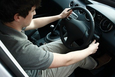 Male Teen Driving