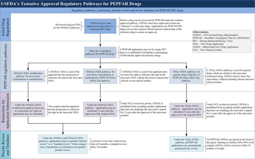 Figure 2 USFDA's tentative approval regulatory pathways for drugs
