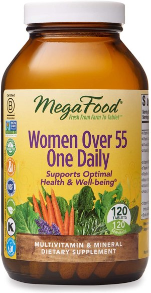 best vitamins for 50 year old woman