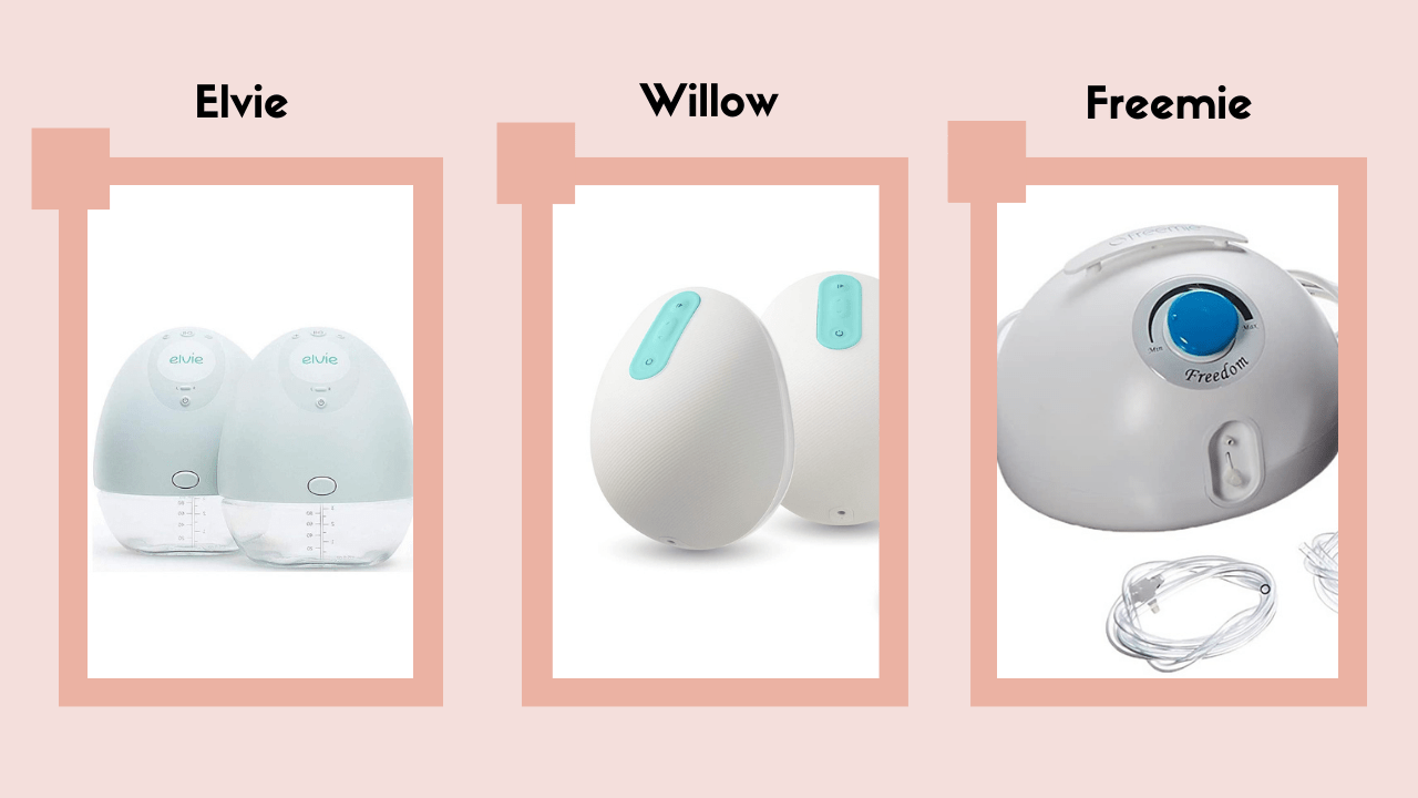Willow Vs Elvie Vs Freemie: Best Wearable Breast Pump?