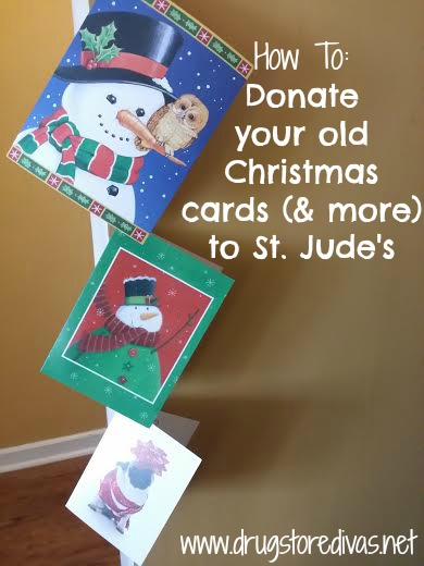 Donation Mail Your Old Cards To St Judes Drugstore Divas