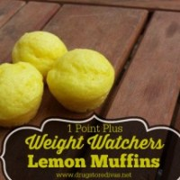 Weight Watchers Lemon Muffins (1 Point Plus) Recipe