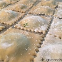 Homemade Kale Pesto Ravioli & Softsoap Hand Soap With Lotion Giveaway (Ends 3/19)