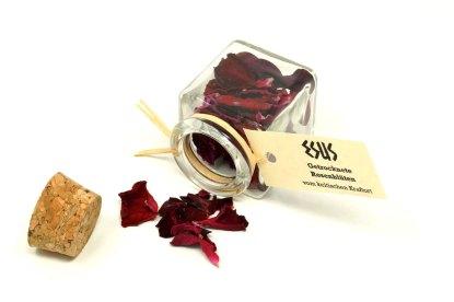 Hochwertige Rosenblüten vom Kraftort