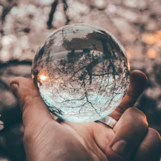 Magische Glaskugel