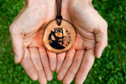 Schutzamulett der keltischen Kraftort-Buche