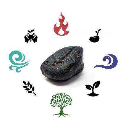 Jahreskreis-Obsidian