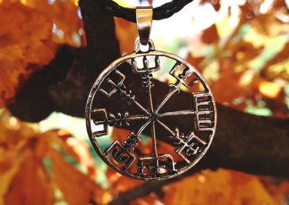 Wikinger Kompass Anhänger