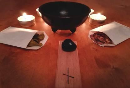 Zubehör Ritual zur spirituellen Reinigung