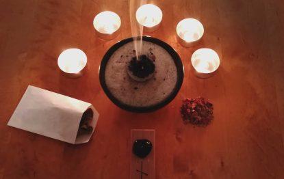 Ritualset spirituelle Reinigung