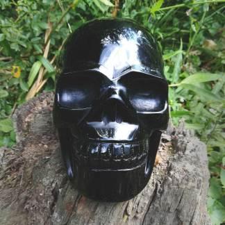 Obsidian Schädel