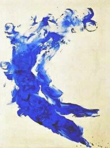Illustration, Yves KLEIN, anthropométrie
