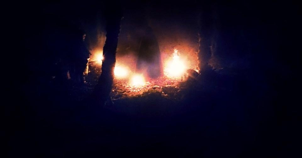 nuit du solstice d'hiver-cérémonie druidique