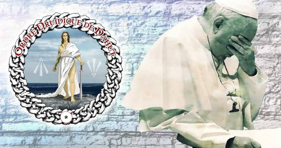 Diffamation du pape envers les païens