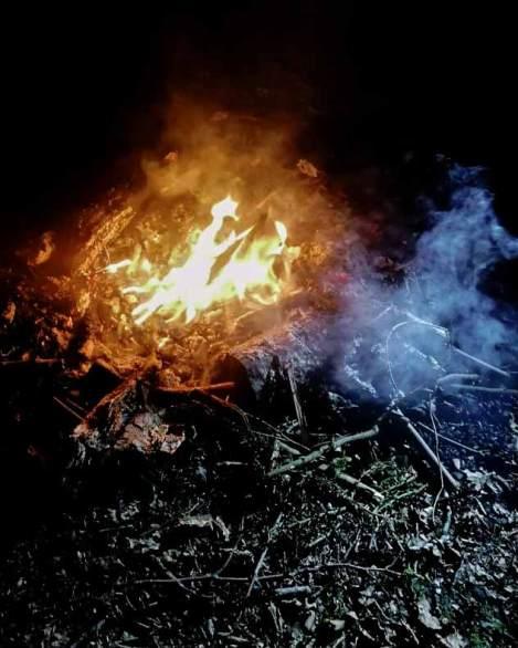 Photo d'un feu - Fête de l'Incarnation