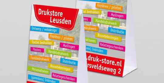 Baliedisplays van Druk-store
