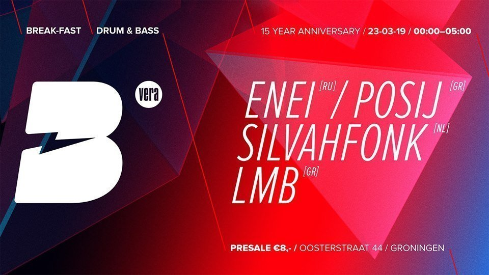 Break-Fast - 15 years of fast breaks feat. Enei & Posij