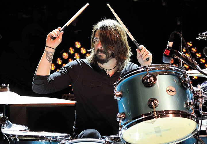 Image result for dave grohl drumming