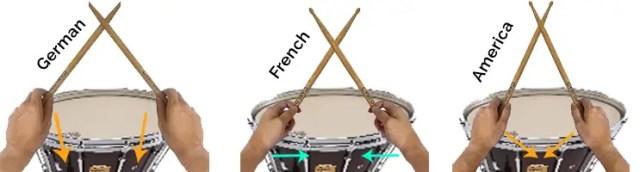 drumsticks grip comparisons full