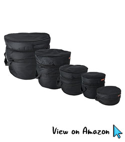 Gearlux 5-Piece Drum Bag Set