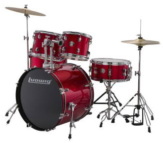 LC175-Ludwig-Accent-Drive-Red